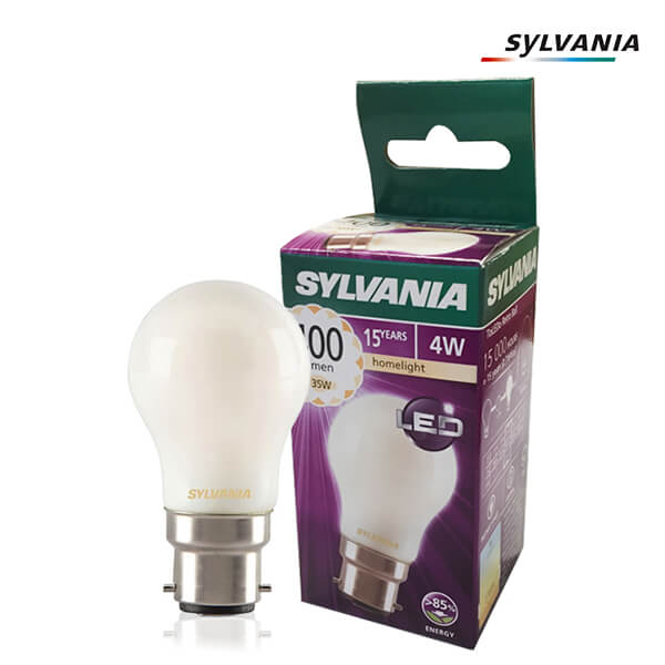 LED filament bulb ToLEDo Retro B22 4W Spherical Silky Sylvania