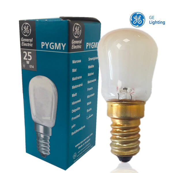 Tube Pygmy à incandescence E14 25W Dépoli General Electric