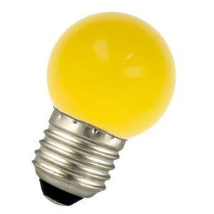 LED bulb E27 1W Spherical Yellow Ariane