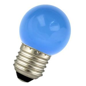 LED bulb E27 1W Spherical Blue Ariane